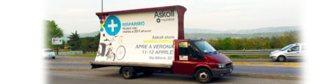 camion vela verona noleggio affissioni agenzia