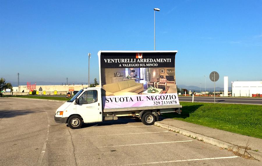 STUDIO PUBBLICITARIO | Camion Vela